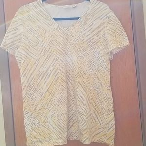 Short Sleeve T Shirt Size 3 Chicos Weekend